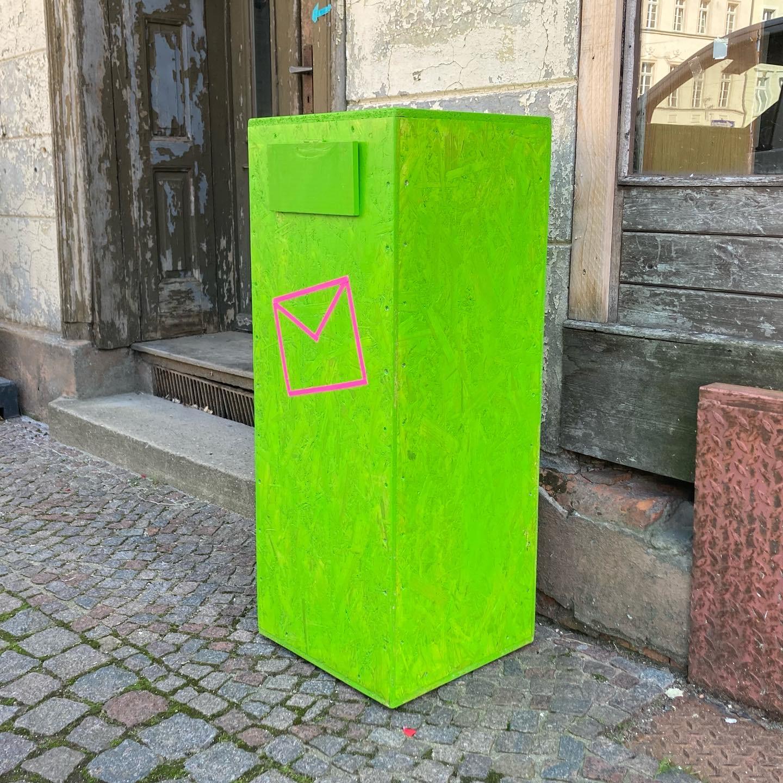 Briefbox Stadtkomplizen